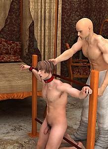 Adult Empire Mobile Porn - cruel boys - 3d gay maledom